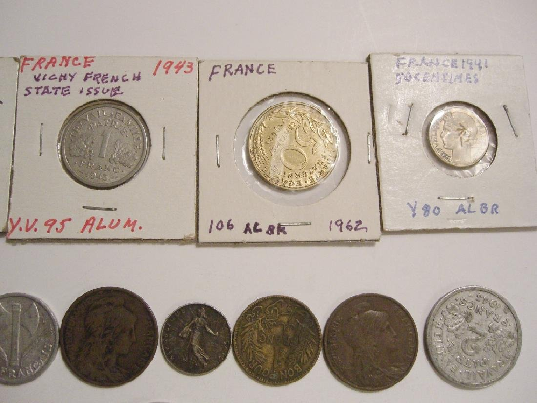 28 France/French coins - 8