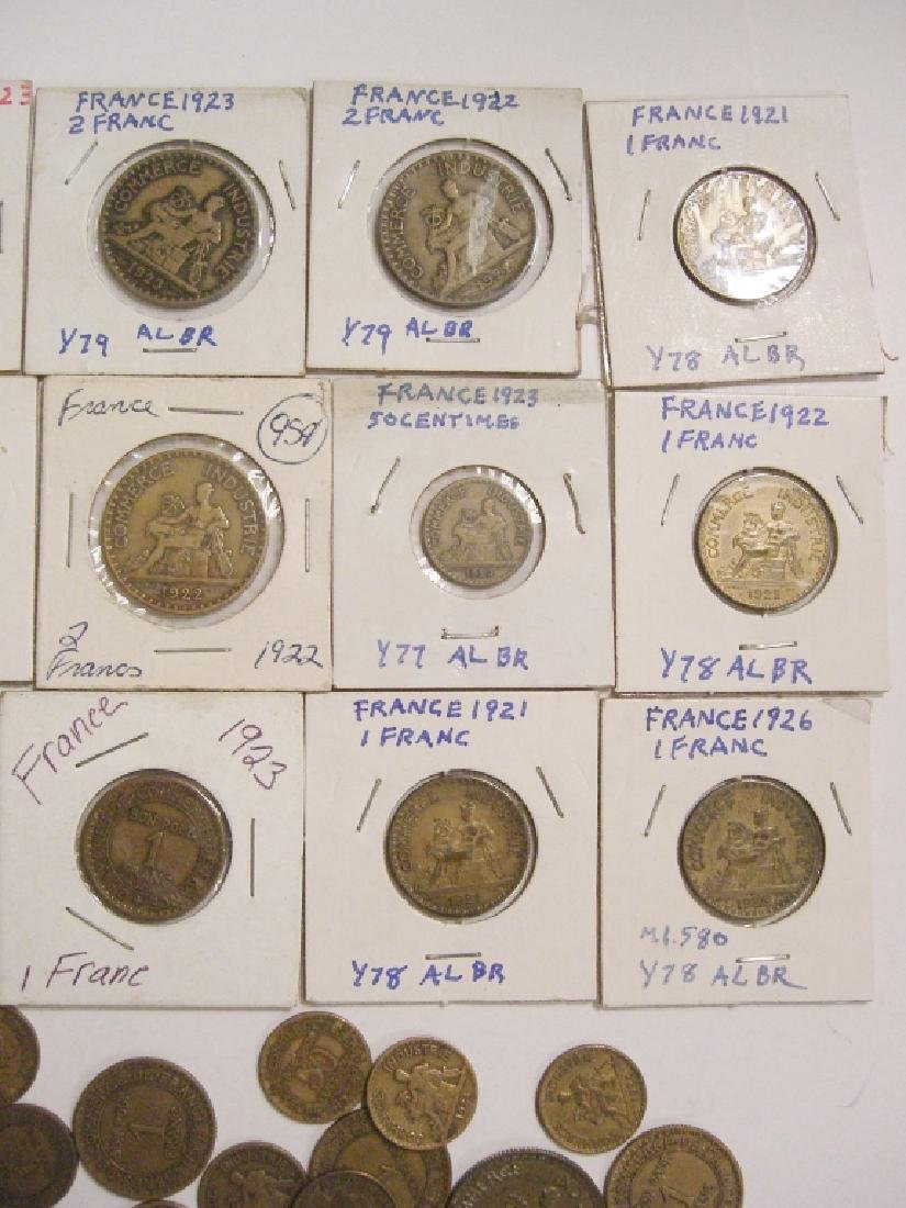 48 France/French coins - 3