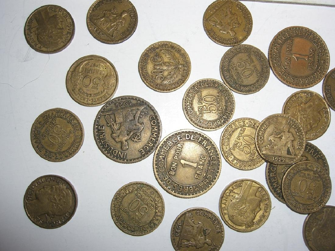 48 France/French coins - 4