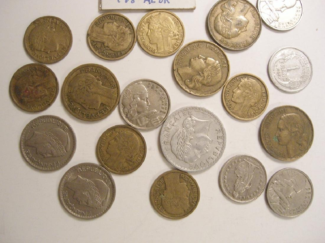 29 France/French coins - 2