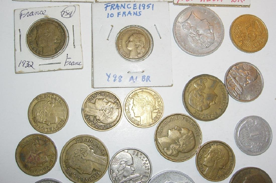 29 France/French coins - 3