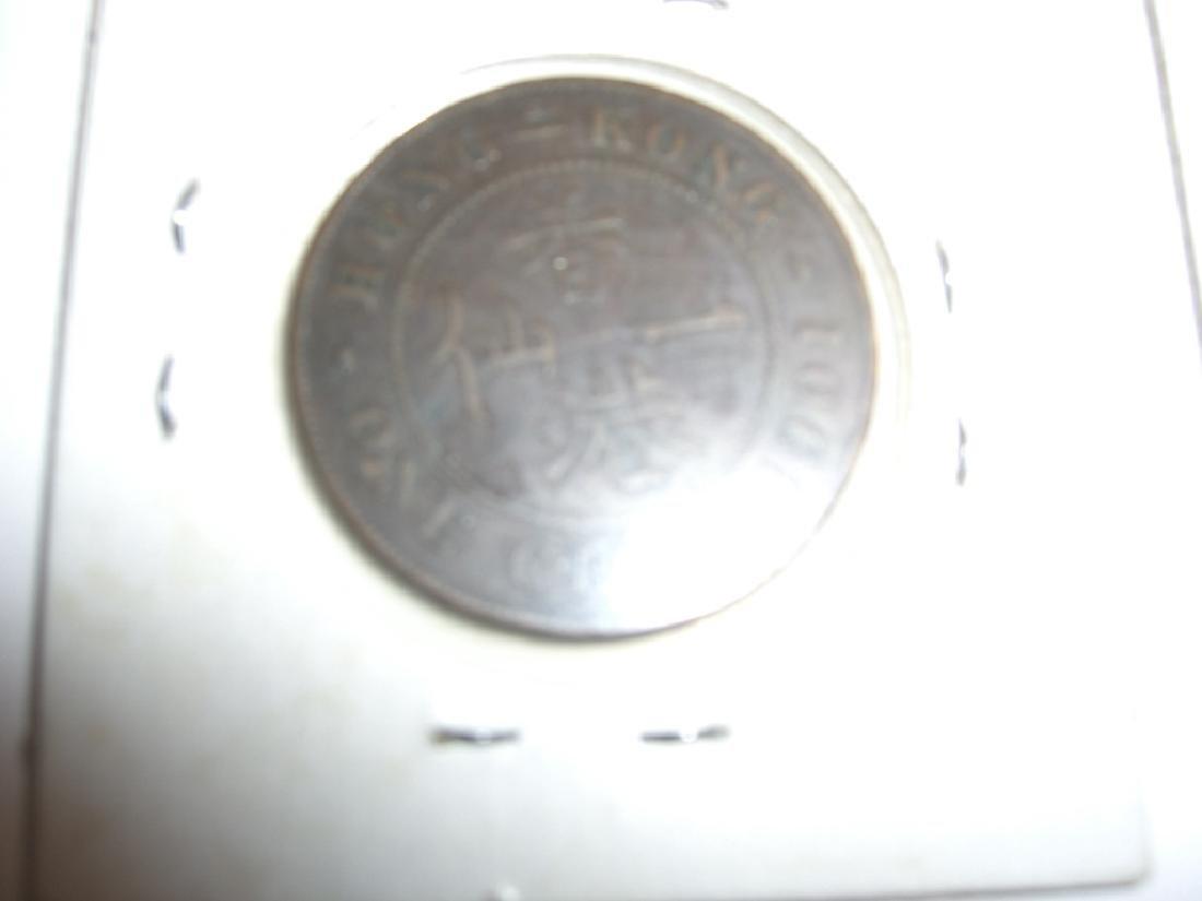 2 1901 Hong Kong coins - 3