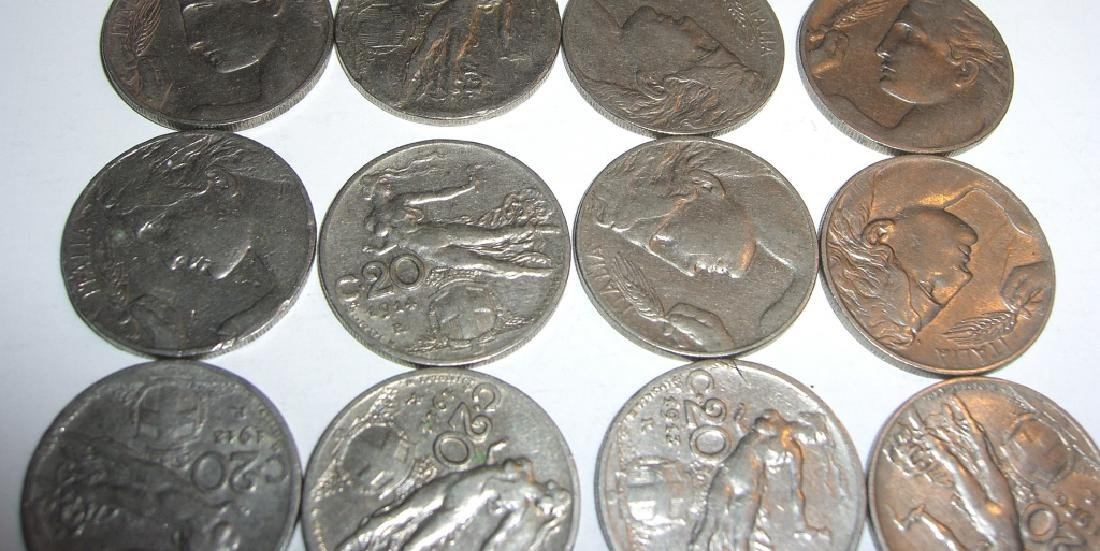 17 Italy 20 centesimi coins lot - 3