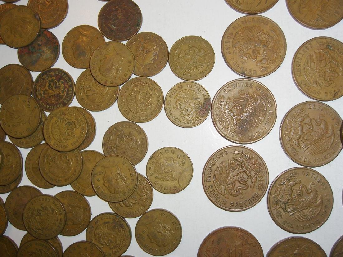 154 1956-1969 Mexico/Mexican mixed coins lot - 10