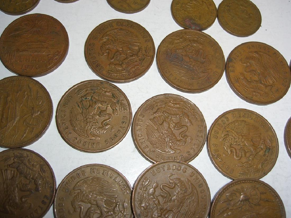 154 1956-1969 Mexico/Mexican mixed coins lot - 2