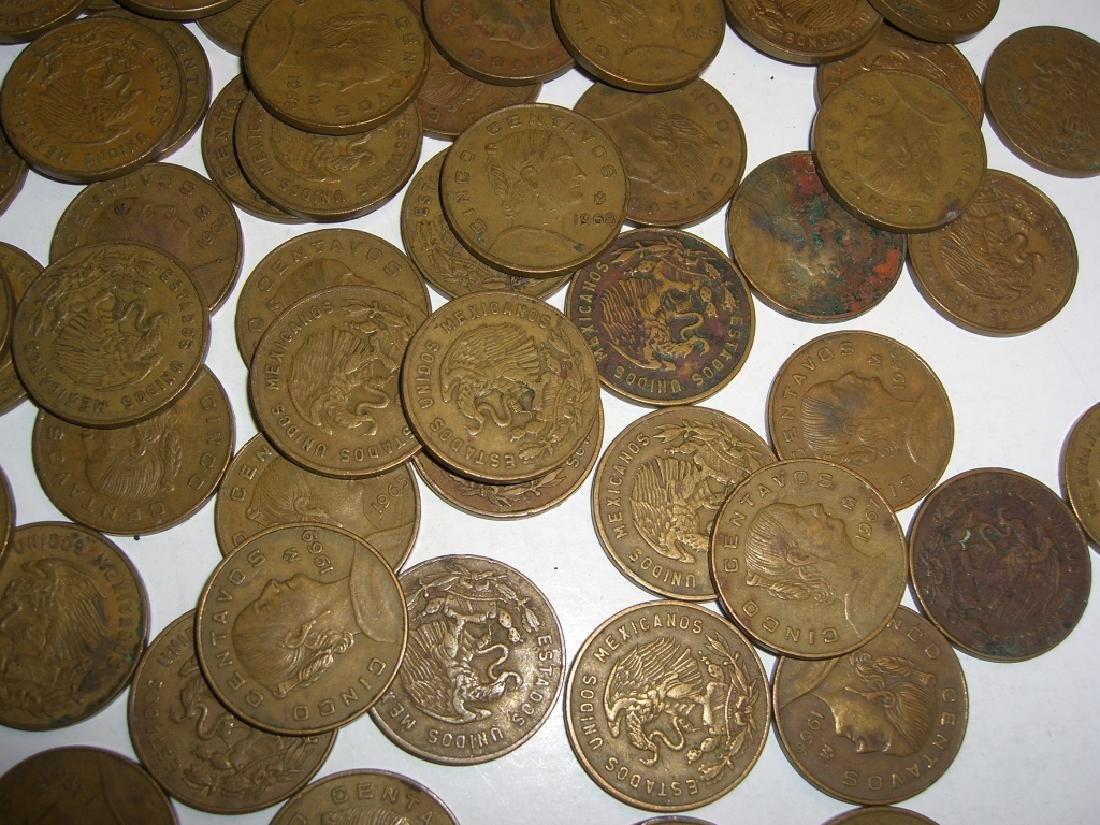 154 1956-1969 Mexico/Mexican mixed coins lot - 6