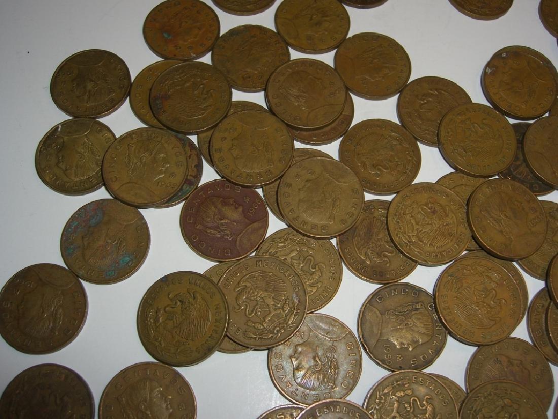 154 1956-1969 Mexico/Mexican mixed coins lot - 7
