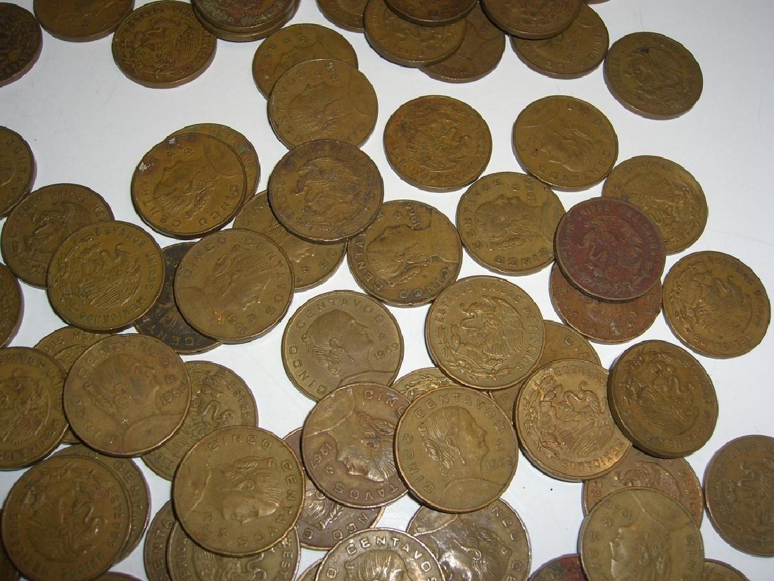 154 1956-1969 Mexico/Mexican mixed coins lot - 8