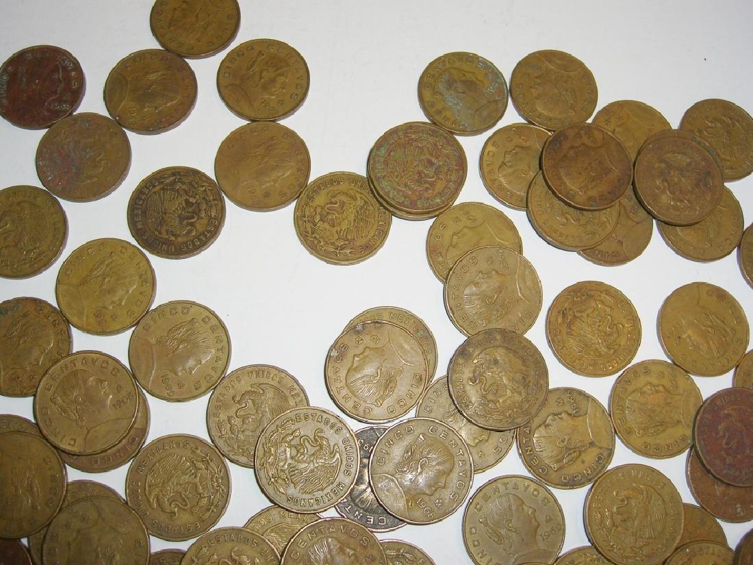 154 1956-1969 Mexico/Mexican mixed coins lot - 9