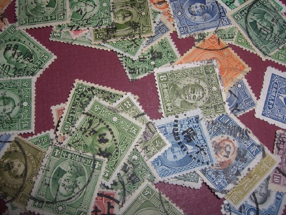 china mixed stamps lot - 6
