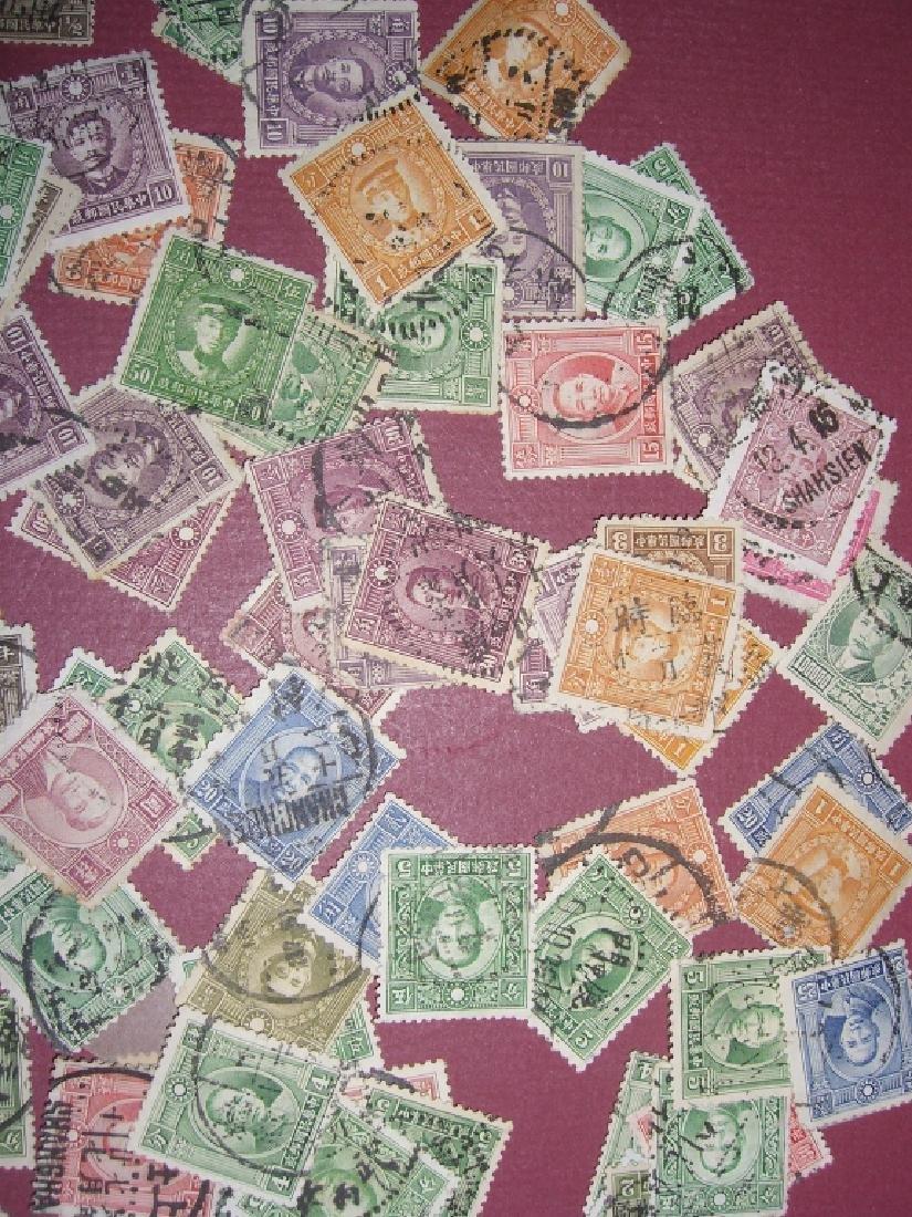 china mixed stamps lot - 8