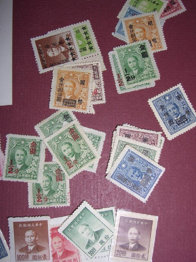 China mixed stamps lot - 3