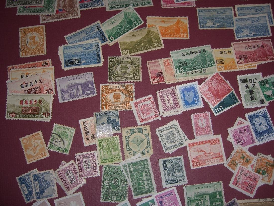China mixed stamps lot - 3