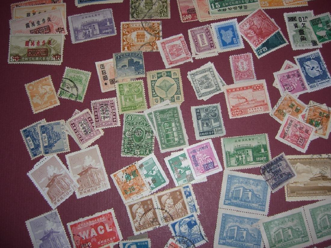 China mixed stamps lot - 4