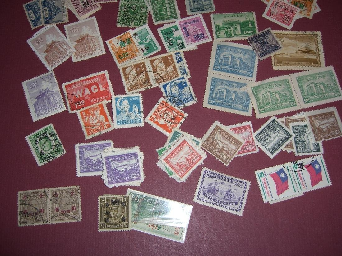 China mixed stamps lot - 5