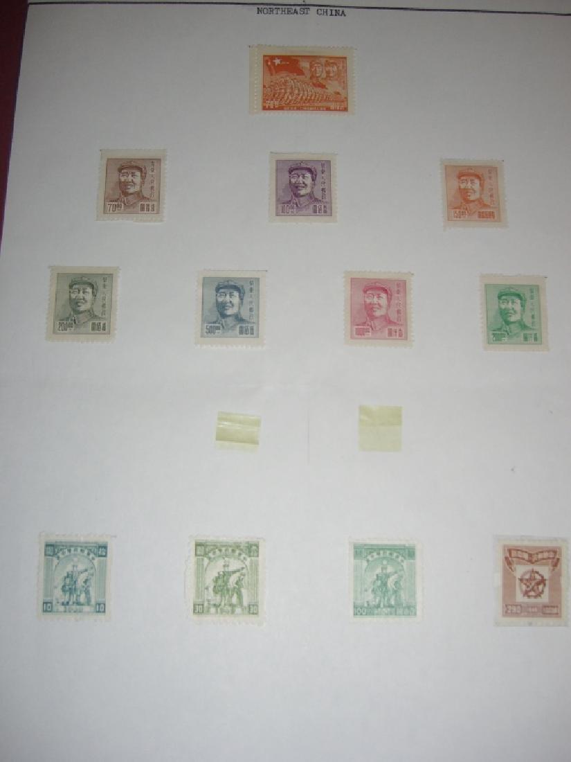 China mixed stamps lot - 10