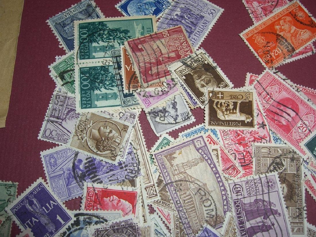 Italy mixed stamps lot - 10