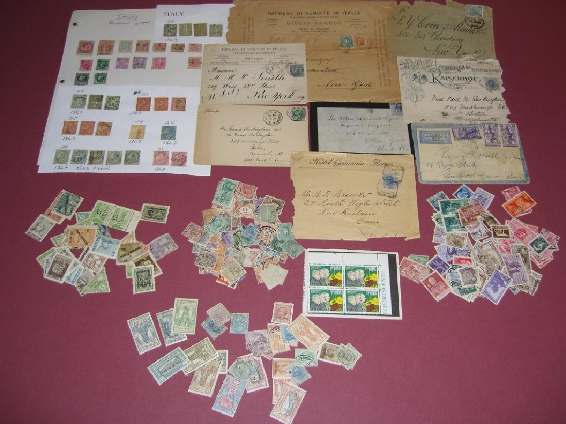 Italy mixed stamps lot