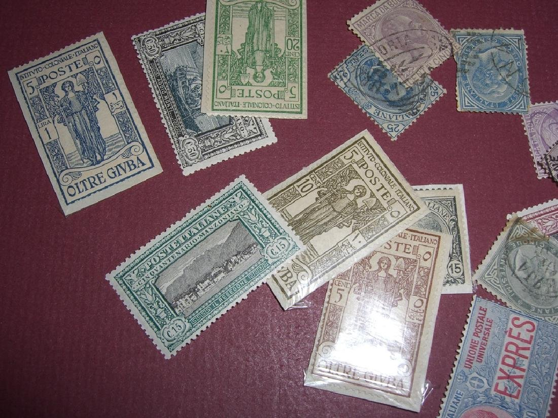 Italy mixed stamps lot - 2