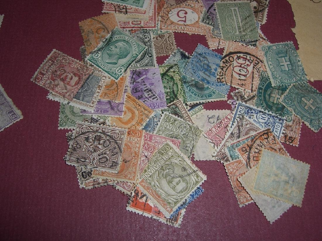 Italy mixed stamps lot - 3