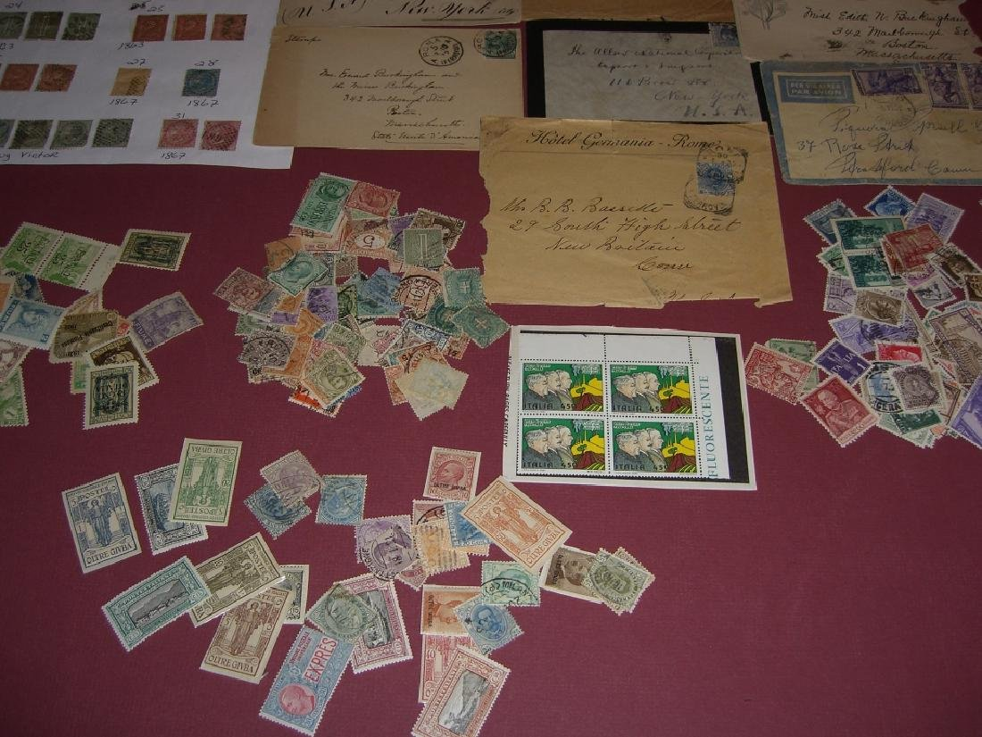 Italy mixed stamps lot - 4