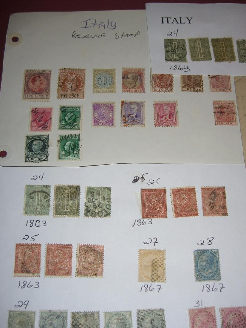 Italy mixed stamps lot - 6