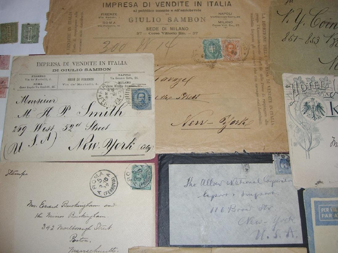 Italy mixed stamps lot - 7