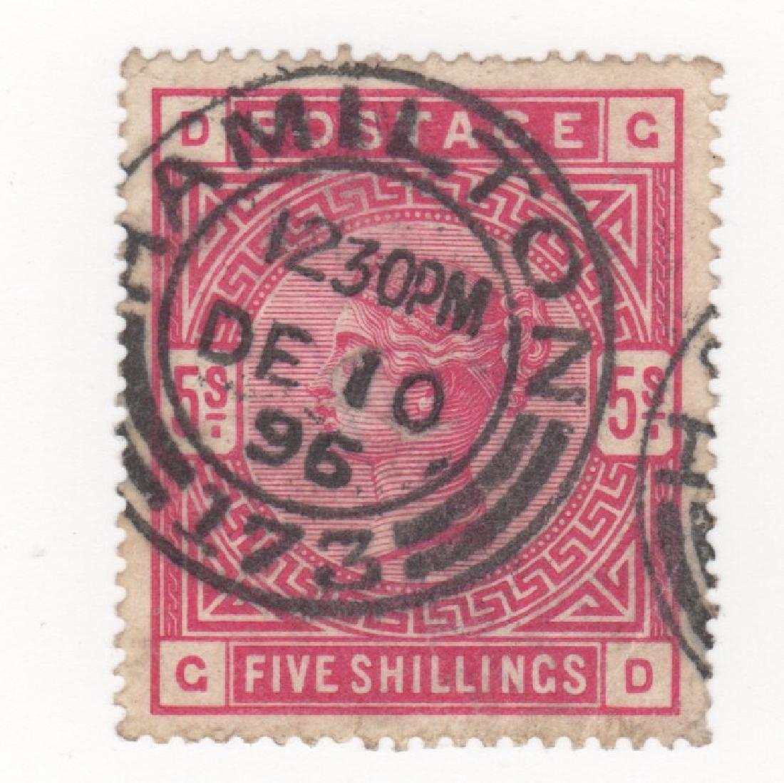 Great Britain Queen Victoria stamp