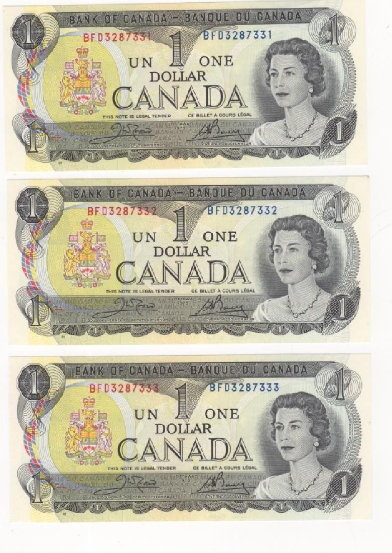 4 piece Canada/Canadian paper money - 2