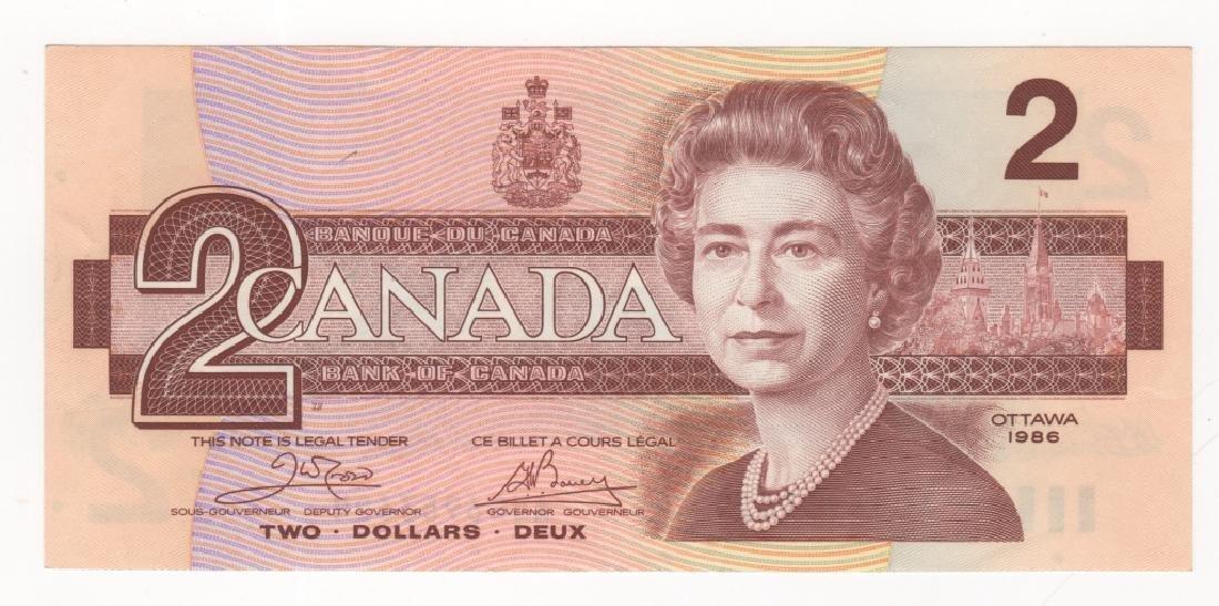 4 piece Canada/Canadian paper money - 4