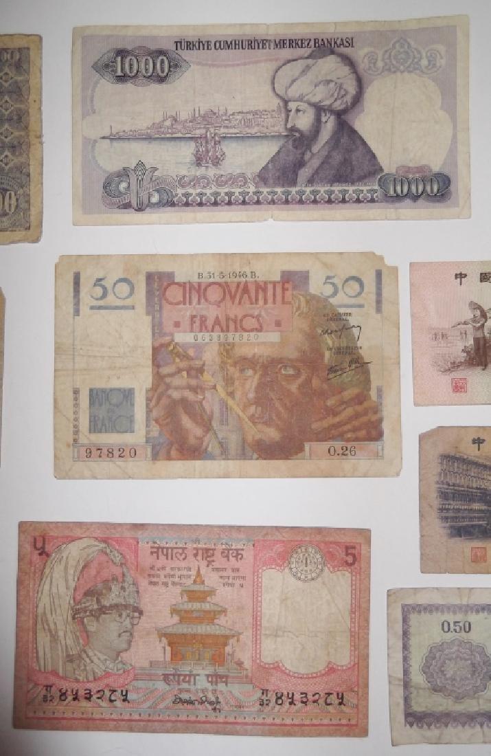 24 piece mixed world paper money lot - 10
