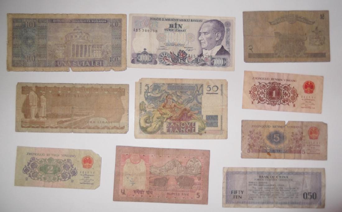 24 piece mixed world paper money lot - 3