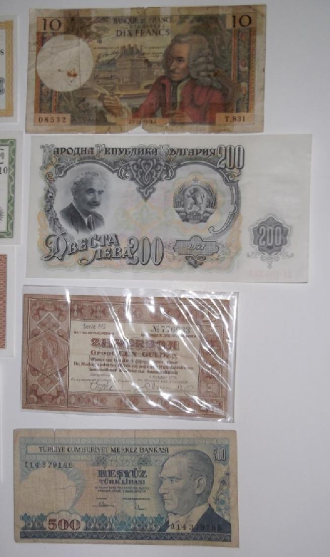24 piece mixed world paper money lot - 4