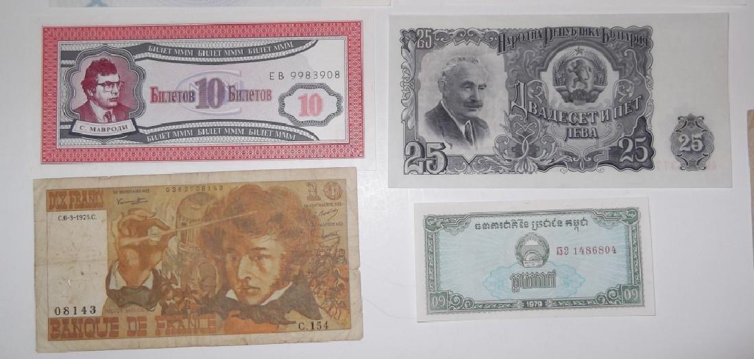 24 piece mixed world paper money lot - 6