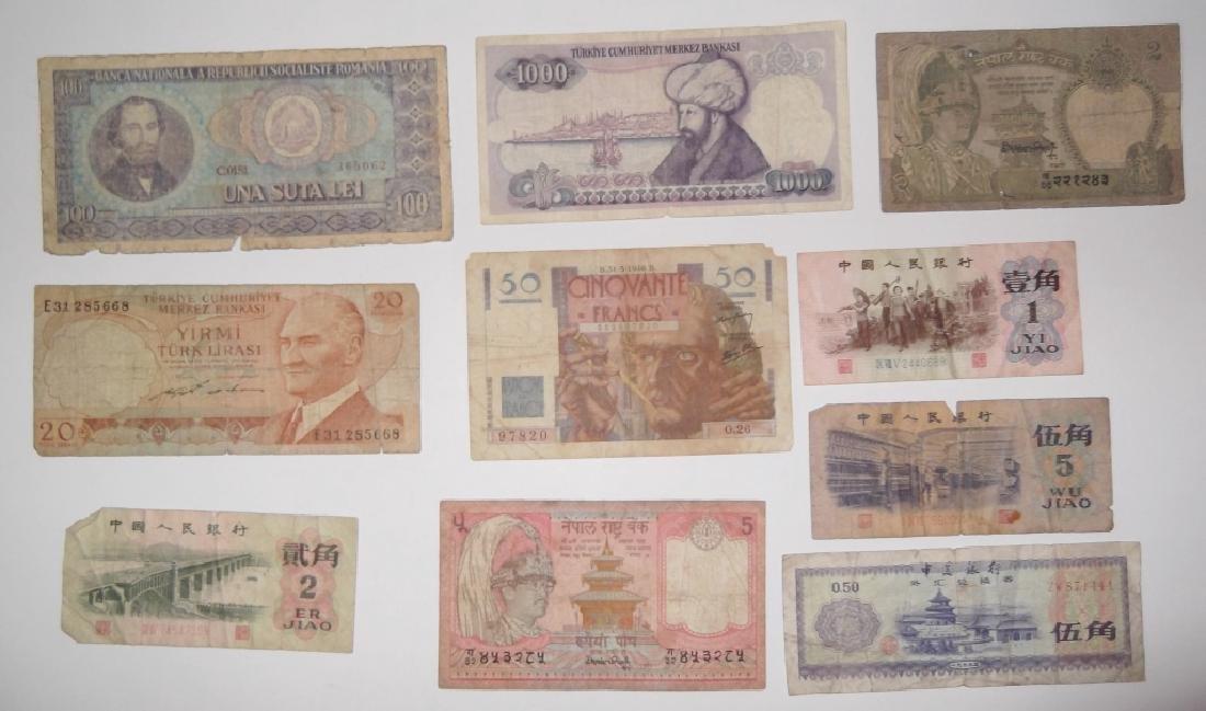 24 piece mixed world paper money lot - 8