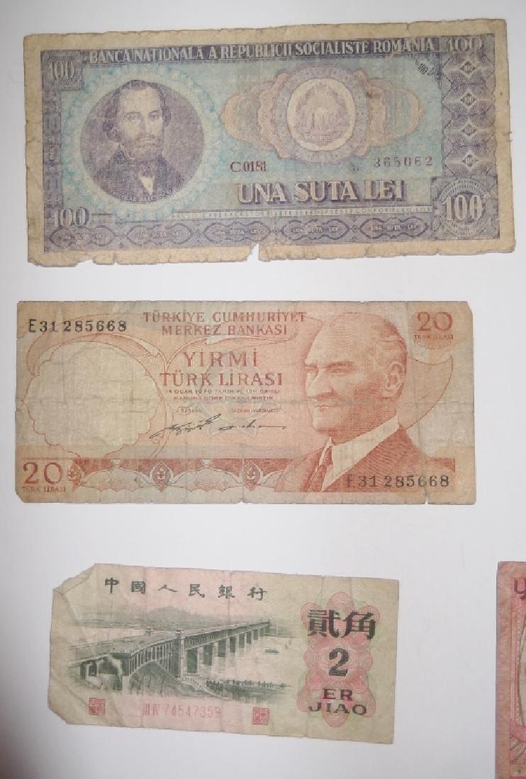 24 piece mixed world paper money lot - 9