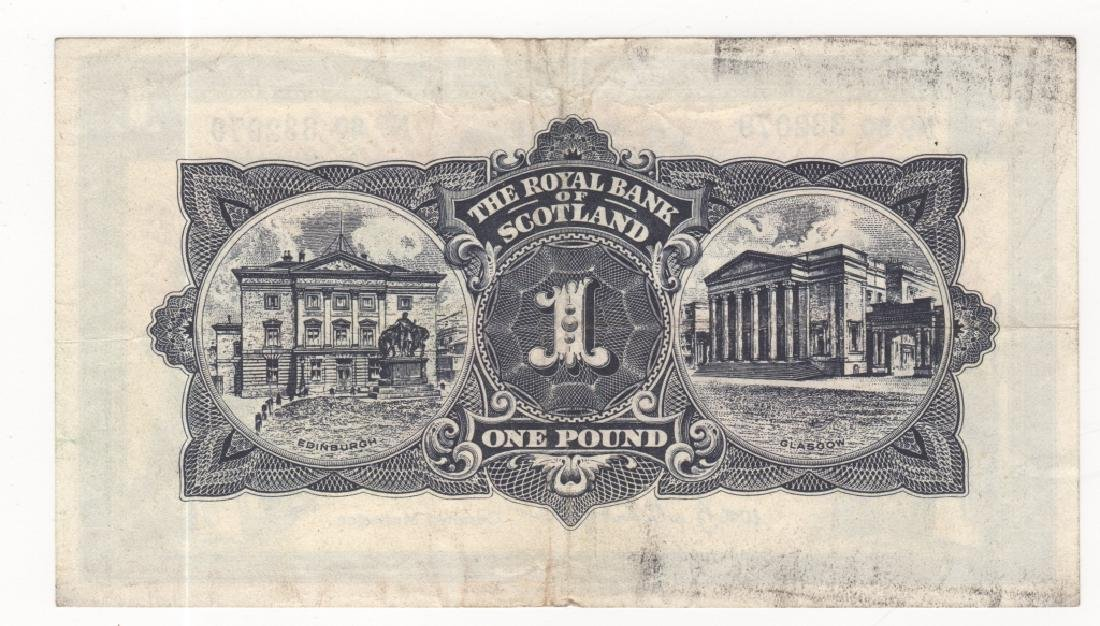 Scotland paper money - 2