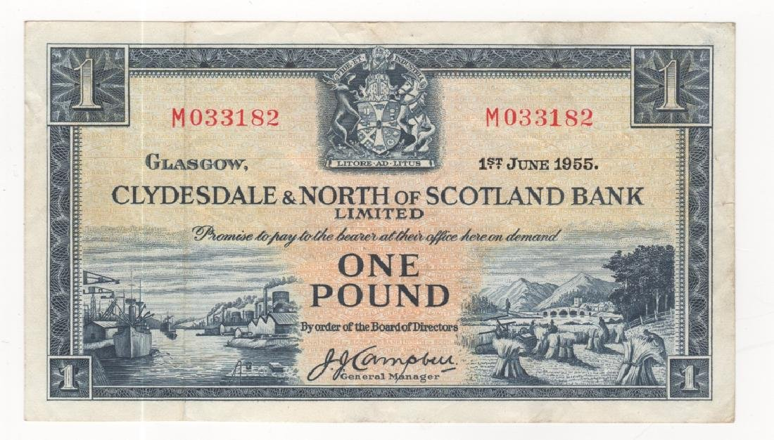Scotland paper money