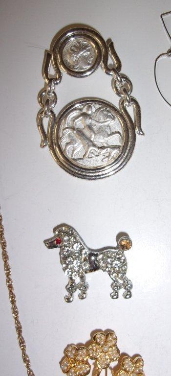 15 piece costume jewelry lot - 4
