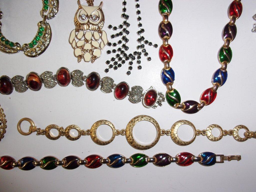 15 piece costume jewelry lot - 2