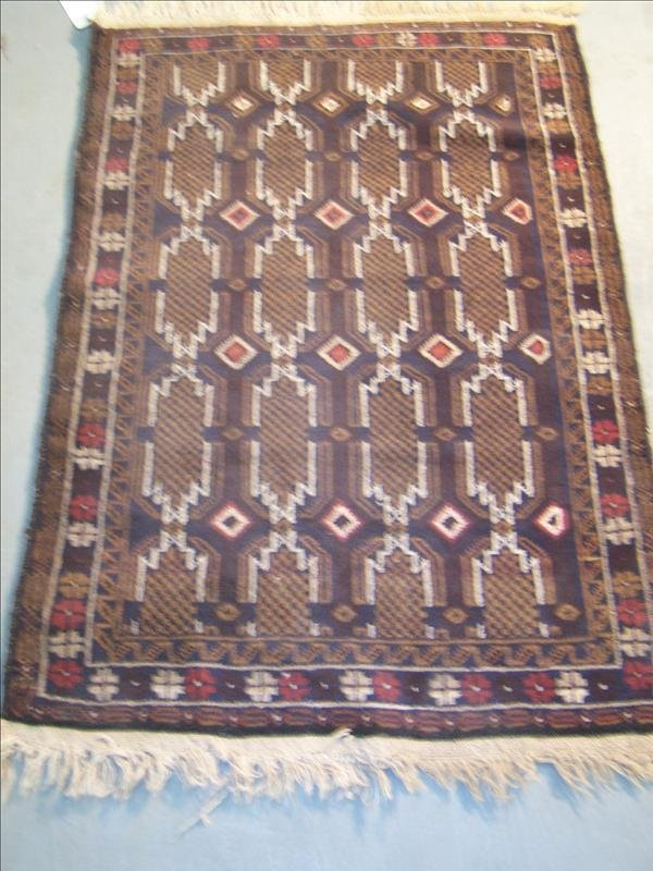 14B: Guaranteed Bokara 100% wool from Afghanistan, 2.10