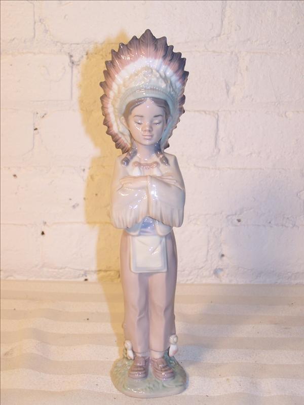 112B: Laredo Indian figure, 11 h 2 w