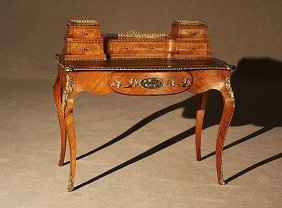 Mid 19th C. Louis Xv Ladies Writing Desk
