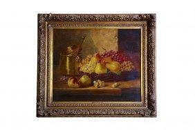 Brunel De Neuville Still Life Painting