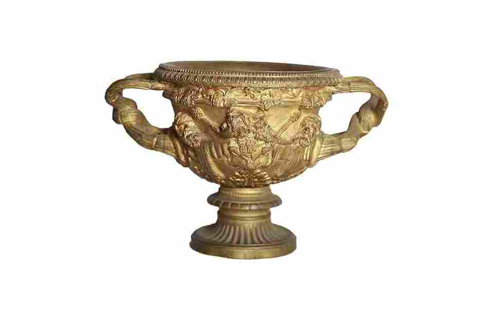 19th C. Bronze Coup Possibly Barbedienne