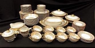 Limoges France Porcelain Dinning Set