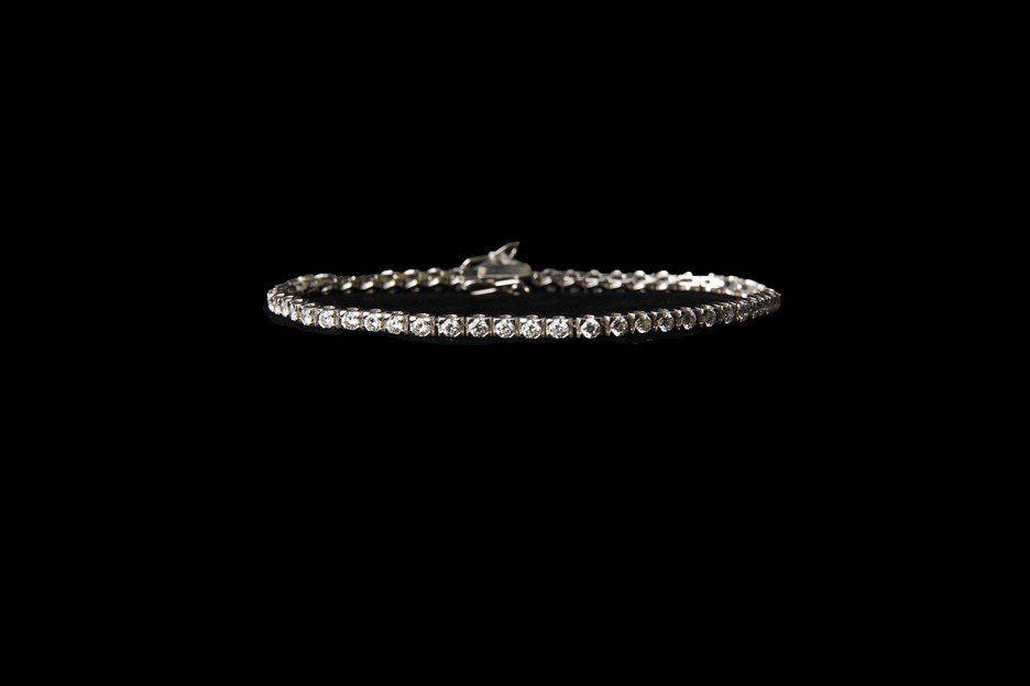 14K Gold Tennis Bracelet with 6.12 CT Diamonds