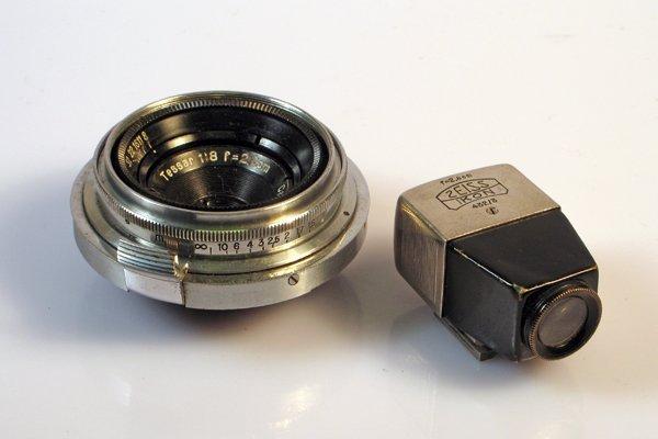 356: 28mm Tessar f8
