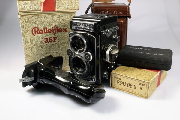 359: Rolleiflex 3,5F Planar