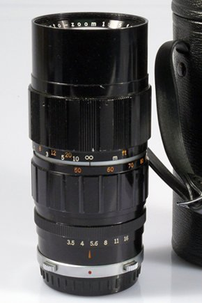 16: 100mm Zuiko f3,5 Nr.233185 with hood and case